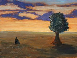 Contemplative Hill - Michael Mealie