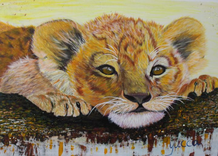 Big cat - Play time - Yucca's Gallery