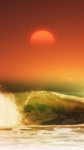 Sun and Waves from my Sun and Earth