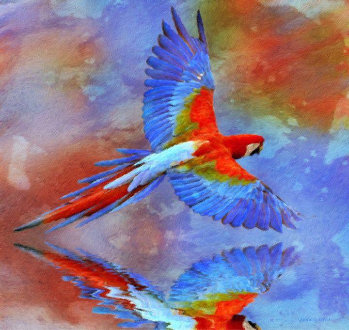 Colorful World - GabriellasArt by Gabriella Weninger-David