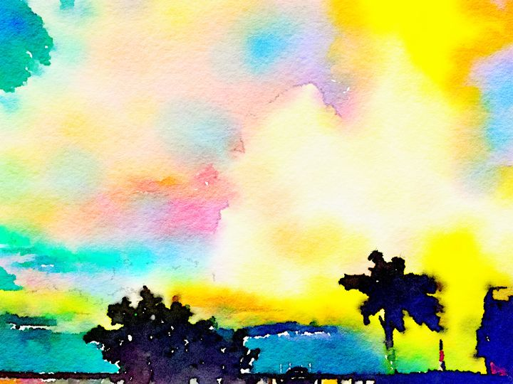 Tropical Clouds - Gypsy Heart Gallery