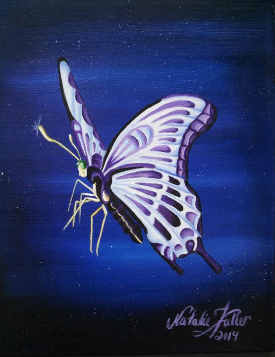 The Magical Butterfly - Natalie Fuller