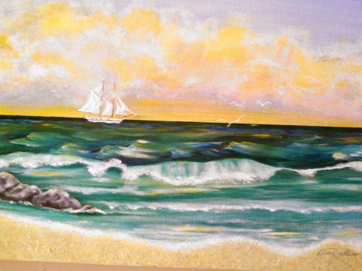The Golden Shore - Natalie Fuller