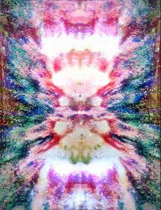A nebula's soul at burst.