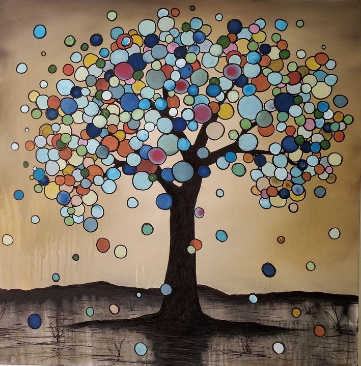 Sara's tree - Art by D