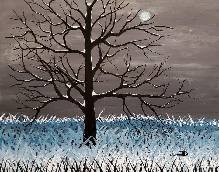 Winter walk - Art by D