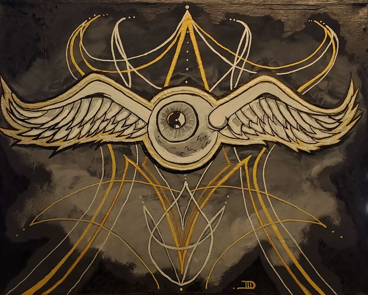Flying eye - Art by D