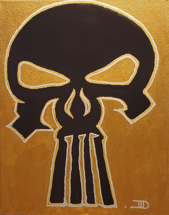 Punisher skull - Art by D
