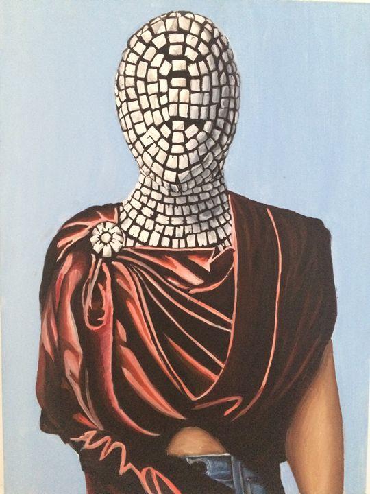 NEW SLAVE GLAM .Kanye West Inspired - LA Paintings