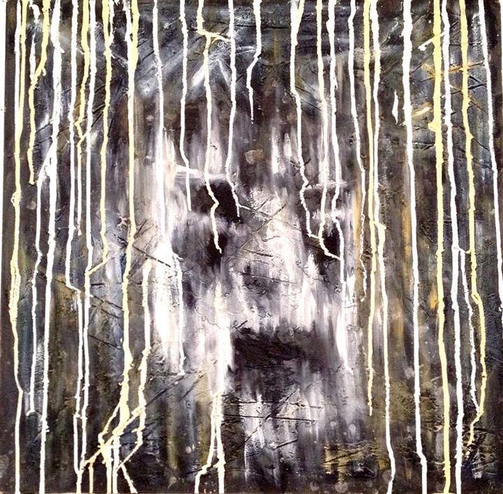 Screaming Face series - Paintings