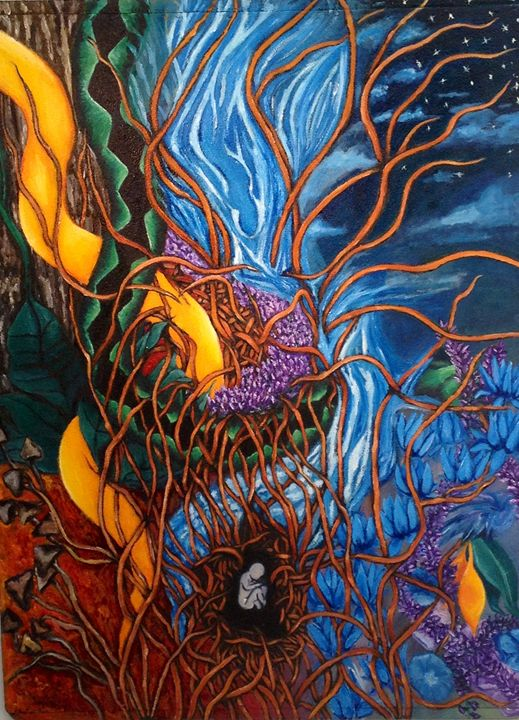 Spiritual Journey - Paintings