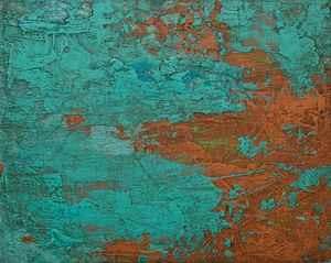 Copper Abstract #1 - Carl Cummings