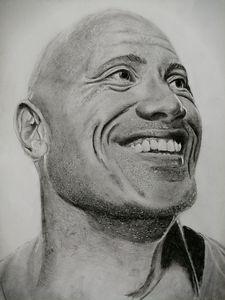 Portrait of Dwayne Johnson