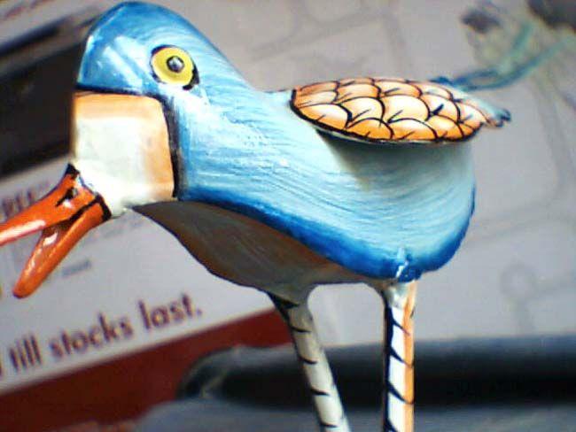 Iron Craft bird - LAKSHIT EXPORT INDIA