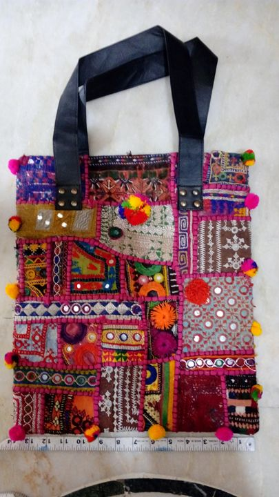 banjara tote bag - LAKSHIT EXPORT INDIA