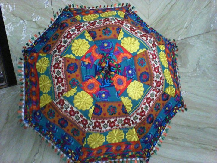 Embroidery umbralla - LAKSHIT EXPORT INDIA