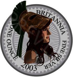 2003 Silver Britannia - Britannia