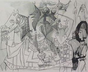 Pablo Picasso Jeux de Pages /500 Ltd