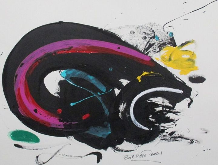 Bill Kort Original Painting 3000USD+ - The Art Guy