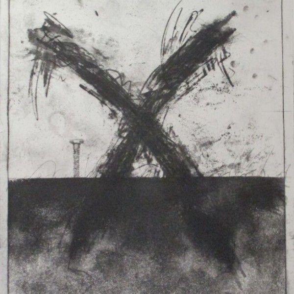 Donald Jay Saff Screw Print /50 Ltd - The Art Guy