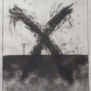 Donald Jay Saff Screw Print /50 Ltd