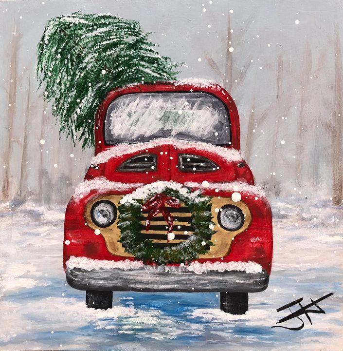 Christmas Truck - Jeanie Hannah