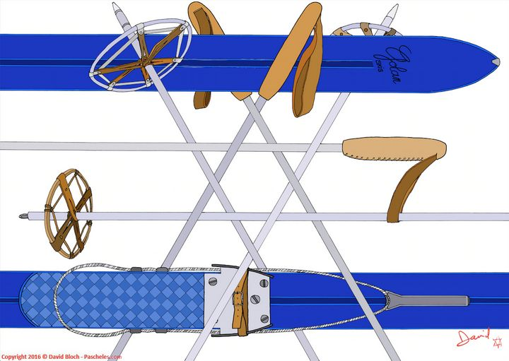 Israel on skis - Pascheles