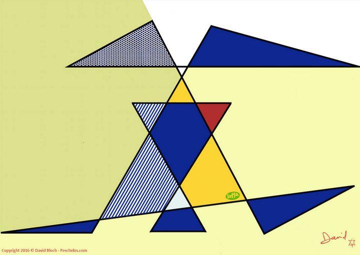 Hommage a Roy Lichtenstein - Pascheles