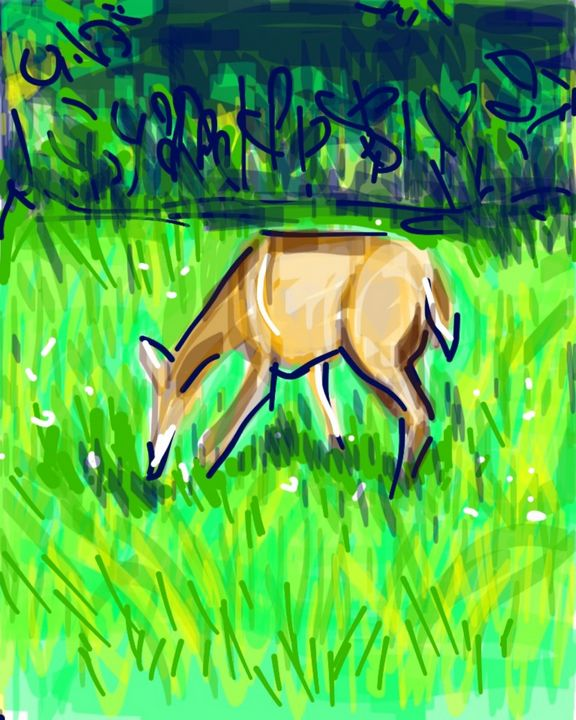Deer - Susan Hess