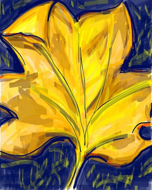 Autumn Leaf - Susan Hess