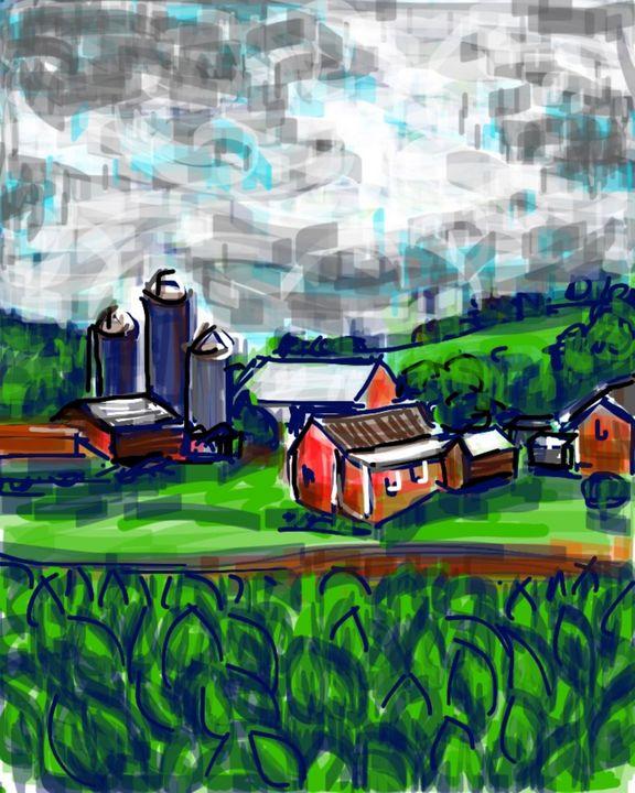 Pennsylvania Farm - Susan Hess