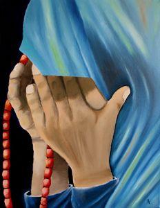 The Praying Lady