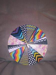 Trippy Clock - Variety Arts by Jen
