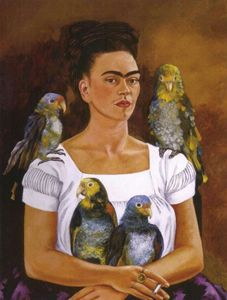 Frida and the parrots