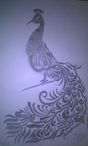 Peacock - Pencil sketch