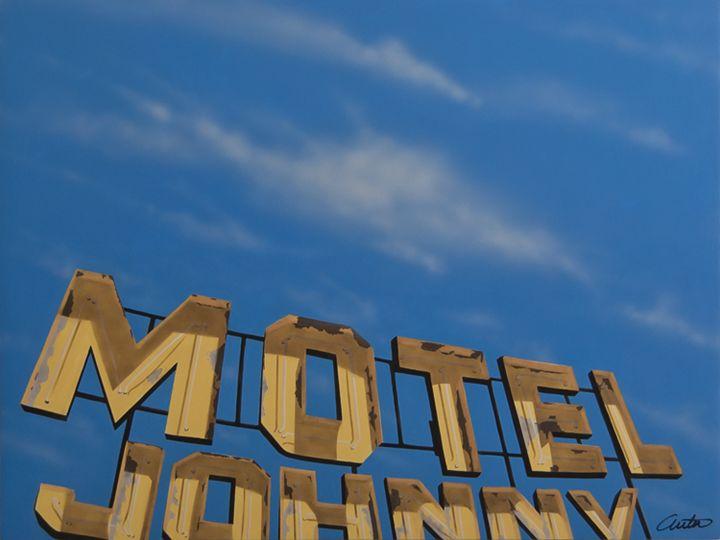 Motel Johnny - Jon Anton Art