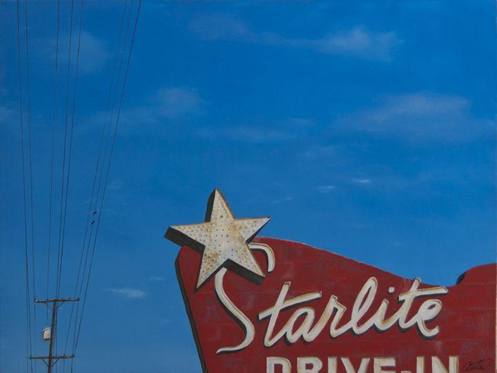Starlight Drive-In - Jon Anton Art