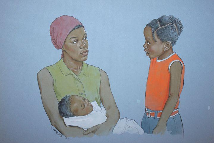 Mama Can I? - Uplift Art
