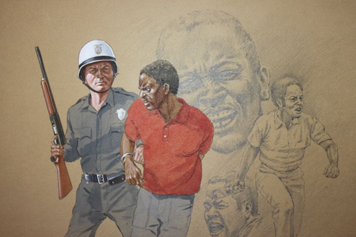Freedom Fight - Uplift Art