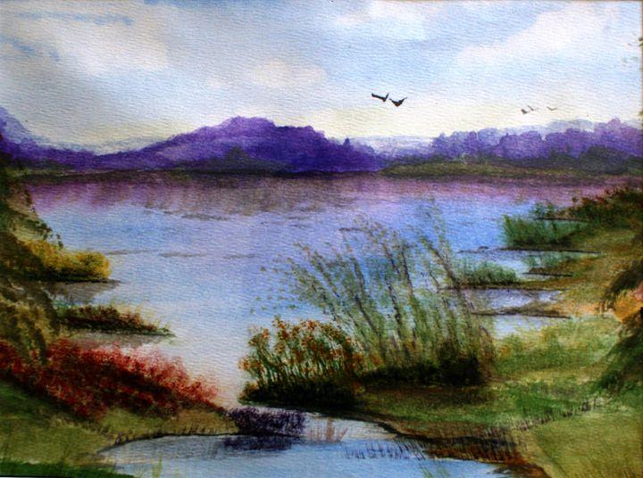 Impressionist Pond - Stephen Reid
