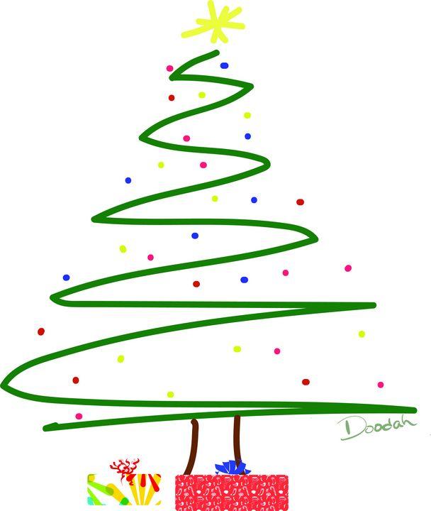 Christmas Tree 01 - Designed by Doodah
