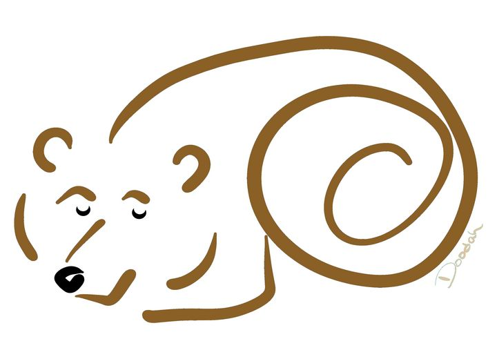Brown Bear Twister - Designed by Doodah