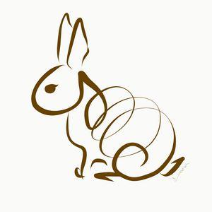 Brown Rabbit Twister
