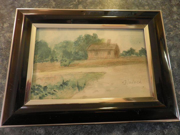 Texon Cabin - Reflections by Dorothy Blalock