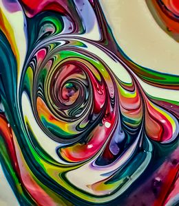Candy Color Swirl