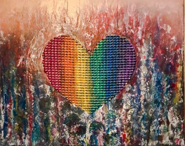 Heart of Love is Love, v4 - Scott-Alexander Artworks & Design