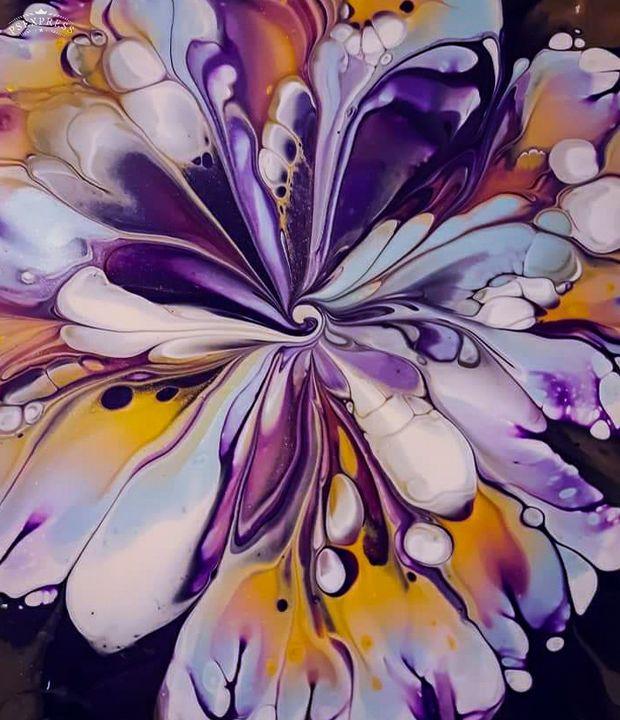 Bubble Floral - Scott-Alexander Artworks & Design