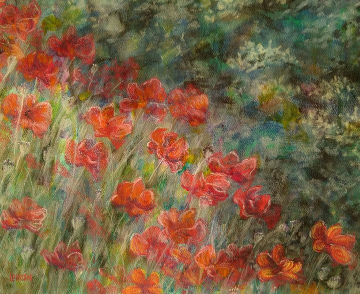 Red Poppies - Lisa Bliss Rush