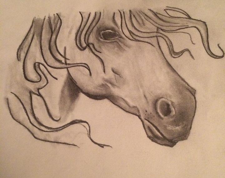 Horse - Art by Josh