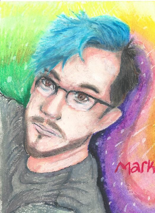 The Many colors of Markiplier - Adriel Eades - Drawings